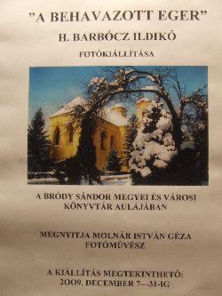 H. Barbócz Ildikó fotókiállításának megnyitója